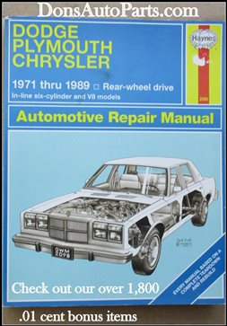 Chrysler 1980 Up
